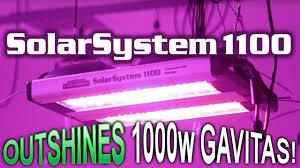 california led grow lights california lightworks solarsystem 1100 led grow light youtube
