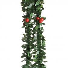accessories pre decorated garland cordless lighted garland for