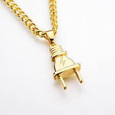 new pendant necklace images Jinse 2017 new arrival plug pendant necklace pendants hip hop gold jpg