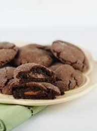 brownie like rolo cookies