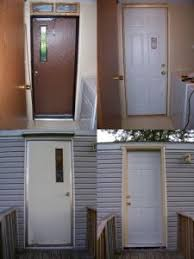 Exterior Doors Mobile Homes Mobile Home Exterior Facelift This Site Has Great Before And