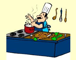 a la cuisine dessin de cuisinier colorie par mounita123 le 17 de novembre de