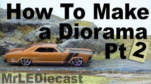 how to build a diorama pt 2 scale garage pinterest dioramas