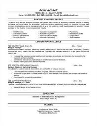 Catering Manager Resume A Href U003d