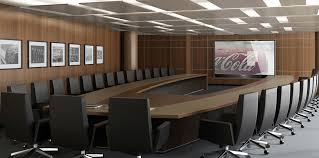 Metal Conference Table Contemporary Conference Table Metal Leather Curved Times