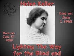 helen keller blind biography helen keller project