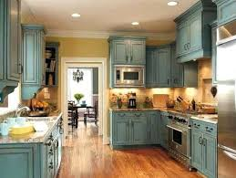 turquoise kitchen ideas distressed turquoise kitchen cabinets truequedigital info