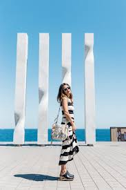 light blue and white striped maxi dress the spring trends 100 cute spring just the design