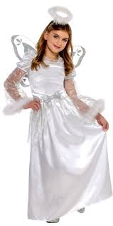 Party Halloween Costumes Kids Girls Christmas Angel Costume Girls Party Fashion