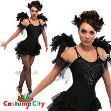 Black Swan Costume Halloween Swan Costume Ebay