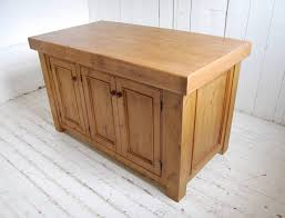 oak kitchen island solid oak kitchen island