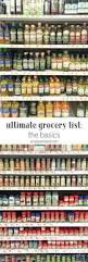 Pantry Of Simple But Professional Best 25 Basic Grocery List Ideas On Pinterest Food Storage