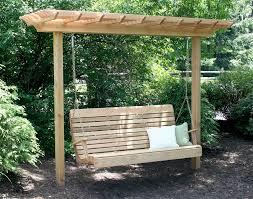 optional swing s wood arbors arbor kits fifthroom com