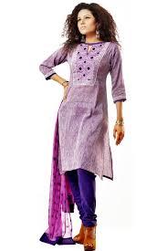 bangladeshi fashion house online shopping cotton embroidery purple salwar kameez tunica
