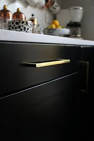 spray painting kitchen cabinets cost uk painting our kitchen cupboards black swoon worthy