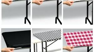 stay put table covers fitted plastic table cloth inch round plastic elastic table covers
