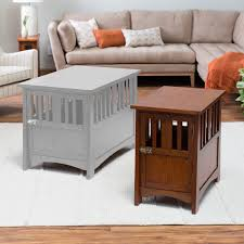boomer u0026 george everett mission pet crate end table hayneedle