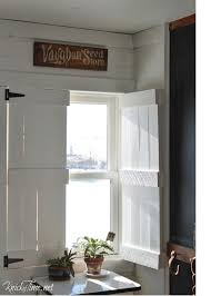 Shutters For Inside Windows Decorating Diy Farmhouse Style Indoor Shutters Indoor Shutters Farmhouse