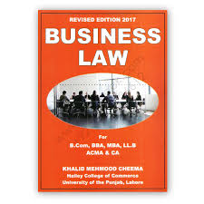 business law 2017 for b com by khalid mehmood cheema cbpbook