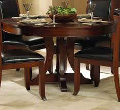 round pedestal dining table with leaf modern perfect round pedestal dining table 48 42 in inch