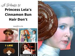 Princess Leia Meme - crazy hairstyles princess leia edition friday frivolity linky