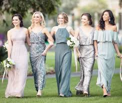 how to create a mix and match bridal party pretty happy love