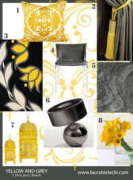 yellow gray bedding and living room decorating ideas mustard