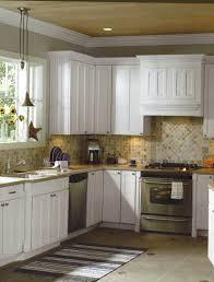 Kitchen Backsplash For White Cabinets Charming Tile Backsplash With White Cabinets 58 With A Lot More