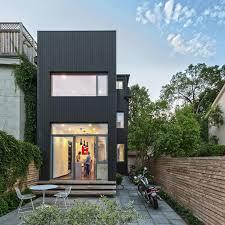 modern home design narrow lot sectional garage door endearing modern narrow house plans narrow lot