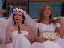 friends the one with all the wedding dresses youtube