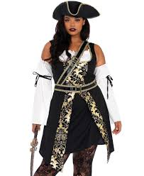 black sea buccaneer plus size costume pirate halloween cosplay