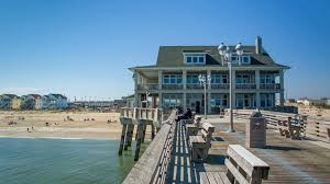 Nags Head Beach House Rental by View From Jennette U0027s Pier To Nags Head Beach Nc On A Sunny Day In