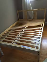 Ikea Bed Slats Hack Upholstered Ikea Fjellse Bed Becomes West Elm On The Cheap Ikea