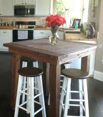 kitchen bar table ideas high table with bar stool intrumpsamerica us