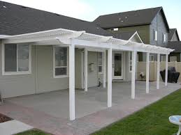 Stunning Vinyl Pergola Patio Cover Design Ideas Pictures Howiezine by Backyard Patio Covers Home Outdoor Decoration