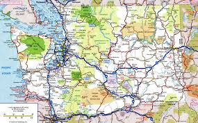 Road Map Of The Usa by Highway Washington Statefree Maps Of Us