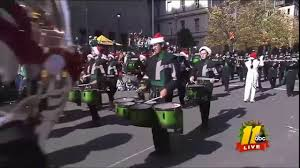 green marching band 2017 raleigh parade