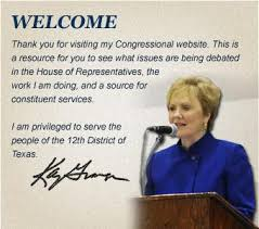 congresswoman kay granger representing the twelfth congressional