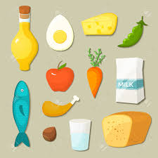 food vector healthy food vector icons set in flat style royalty free cliparts