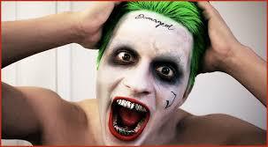 best joker makeup tutorial from squad jared leto vlog you