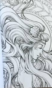 38 best mermaid coloring pages images on pinterest mermaid