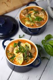 Italian Soup by Tomato Tortellini Soup With Italian Sausage Jessica Gavin