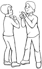 coloring pages of people image people talking free download clip art free clip art on