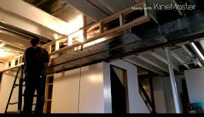 part 3 soffit and half walls youtube