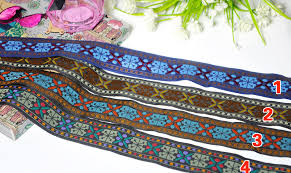 wholesale lace ribbon wholesale new 20yd lot national wind embroidery ribbon diy