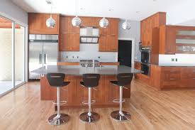 Moore Project Modern Kitchen Dallas By Modern Craft - Medium brown kitchen cabinets
