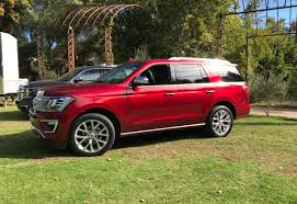 ford expedition red first drive all new 2018 ford expedition