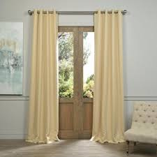 half glass door curtains double half glass entry door with homemade beige fancy curtains