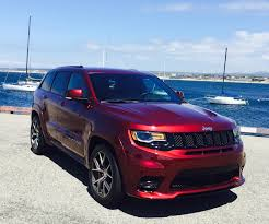 jeep red 2017 2017 jeep grand cherokee srt cali roots certified automotive