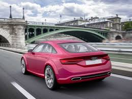 pink audi audi just released a 4 door tt business insider